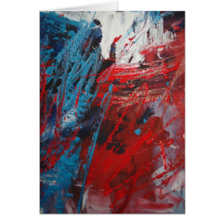 Creative Abstract Art Decor Card