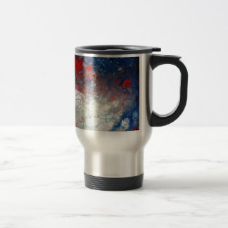 Creative Abstract Art Travel Mug