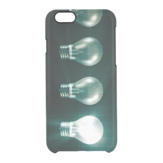 Creative Abstract with Business Concept of Idea Clear iPhone 6/6S Case