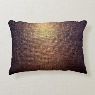 creative accent pillow