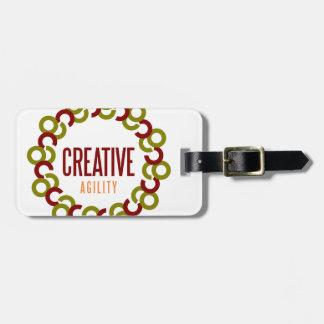 creative agility tag for luggage