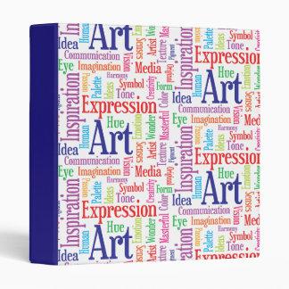 Creative Artist or Designer's Words of Inspiration 3 Ring Binder