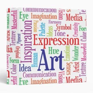 Creative Artist or Designer's Words of Inspiration Binder