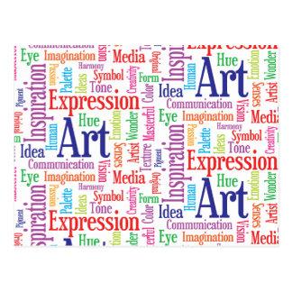 Creative Artist or Designer's Words of Inspiration Post Cards