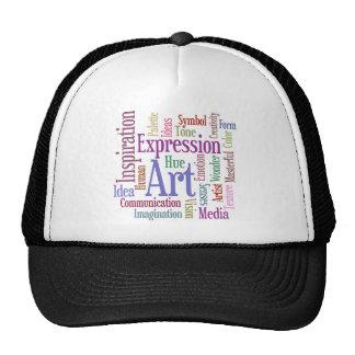 Creative Artist's Inspiration Word Art Trucker Hat