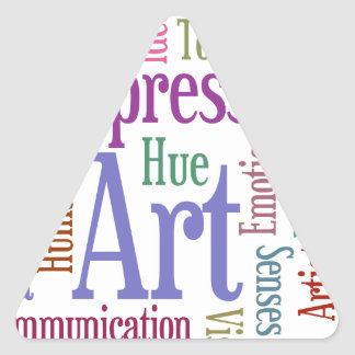 Creative Artist's Inspiration Word Art Stickers