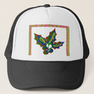 Creative Arts : HOLLY Graphics Trucker Hat
