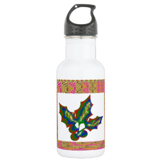 Creative Arts : HOLLY Graphics Water Bottle