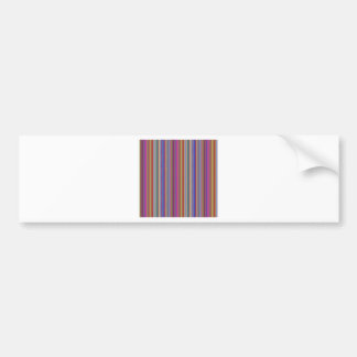 Creative backgrounds colorful lines stripes graphi bumper sticker