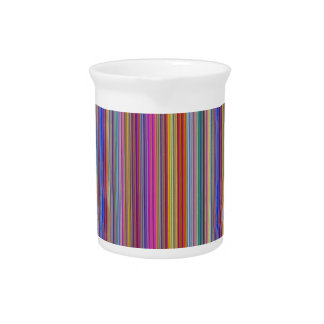 Creative backgrounds colorful lines stripes graphi drink pitchers