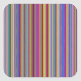 Creative backgrounds colorful lines stripes graphi square sticker