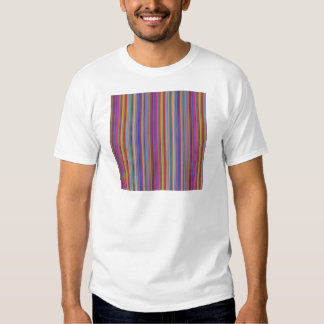 Creative backgrounds colorful lines stripes graphi tee shirt