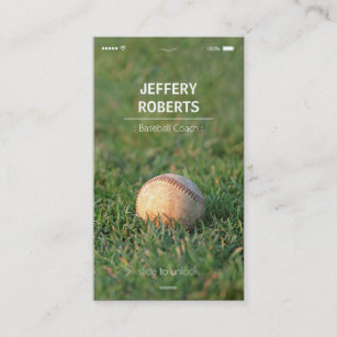 Baseball instructor business cards templates zazzle creative baseball coach baseball trainer business card colourmoves