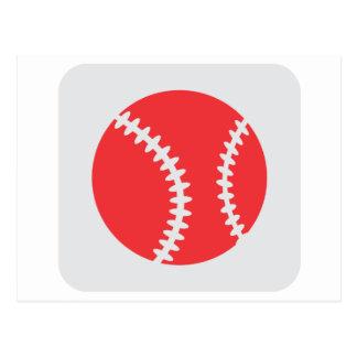 Creative Baseball Logo Design Postcard