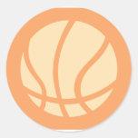 Creative Basketball Logo Stickers