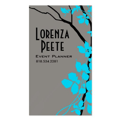 Creative Branches (Event Planner) Business Card Templates