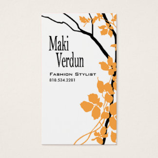 Creative Branches (Fashion Stylist) Business Card