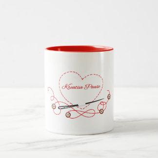 Creative break Two-Tone coffee mug