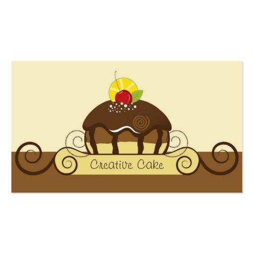 Creative Cake Business Card (back side)