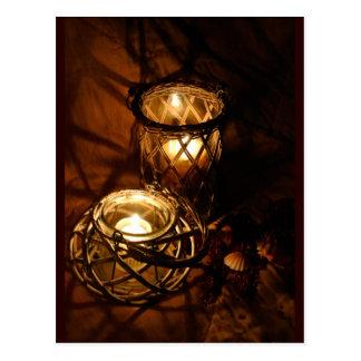Creative Candlelight Postcard