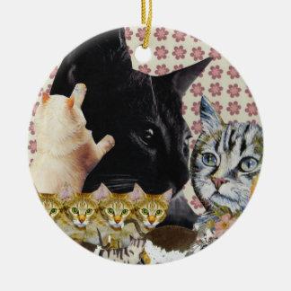 Creative Cats Ornament