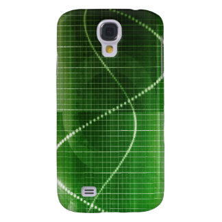 Creative Chart Line Graph Abstract Background Galaxy S4 Case
