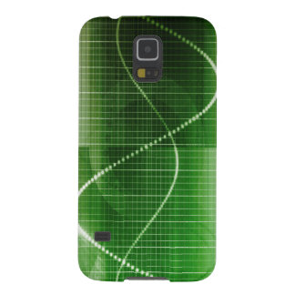 Creative Chart Line Graph Abstract Background Galaxy S5 Cover