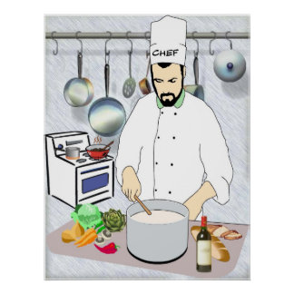 Creative Chef Print