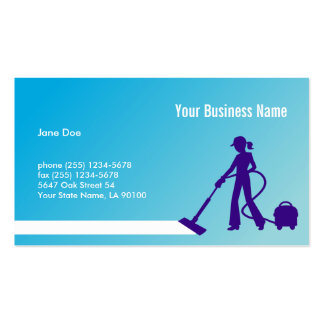 Creative Cleaning Business Card