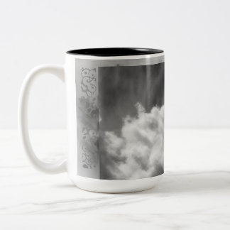 Creative Clouds Two-Tone Coffee Mug