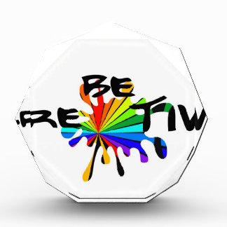 Creative colorful art award