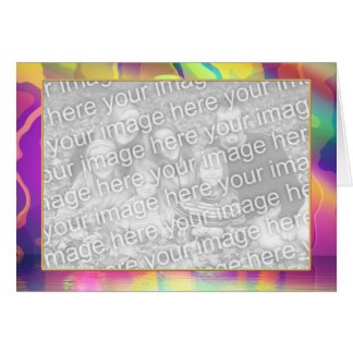 Creative Colors photo frame Greeting Cards
