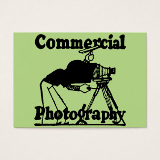 Creative Commercial Photographers Business Card