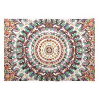 Creative Concentric Abstract 2 Placemat