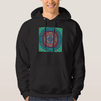 Creative Concentric Abstract Hoodie