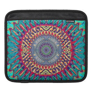 Creative Concentric Abstract Sleeve For iPads