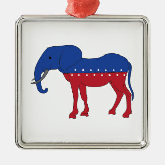 Creative Democracy: A New Animal Metal Ornament
