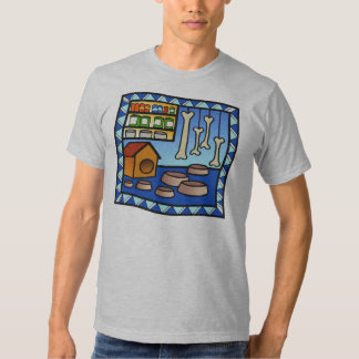 Creative Design Dog theme tshirt