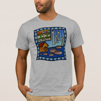 Creative Design Dog theme tshirt
