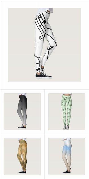 Creative Design Leggings for Her