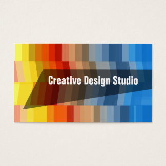 Creative Design Studio Director Business Card