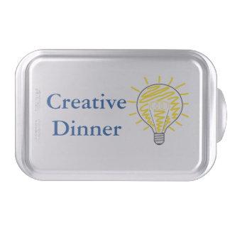 Creative Dinner Backform Molde Para Pasteles