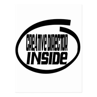 Creative Director Inside Post Card
