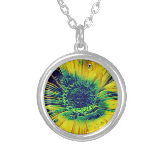 Creative Droplets Silver Plated Necklace