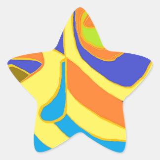 Creative Energy Star Sticker