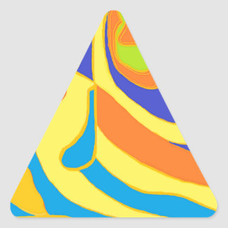 Creative Energy Triangle Sticker