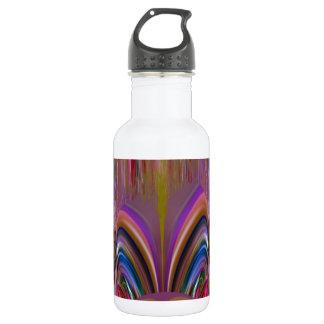 Creative FANTASY Graphic Art on fun KIDS Stainless Steel Water Bottle