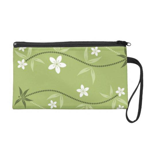 Creative Floral Clutch Bag Wristlets