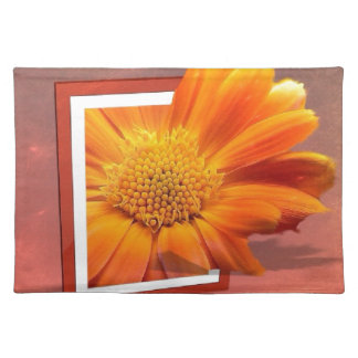 creative flower cloth placemat