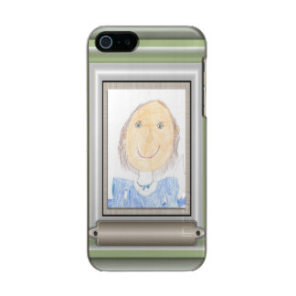 Creative Frame and Mat For Your Masterpiece Metallic iPhone SE/5/5s Case